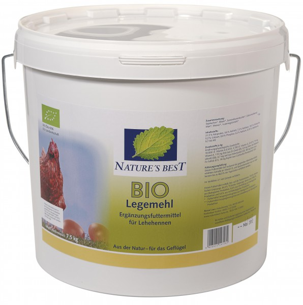 Nature´s Best Bio Legemehl 7,5 kg